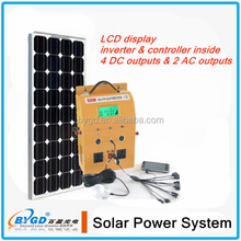 2014 Hot sale smart DC solar system,solar home system