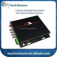 analog audio fiber optic transmitter and receiver