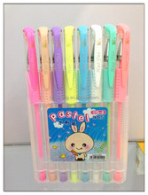 CH-6103 Red Blue Black Green Ink Ball Pen,Scented Glitter Gel Pens for kids