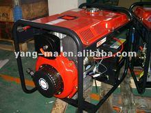 (3GF-ME)Air-cooled 4 stroke 178f 7hps diesel engine power 3KVA 3KW electric diesel generator