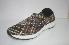 2015 nouveau design casual tissé élastique hommes chaussures