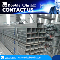Steel Structure Buildings Hollow Section/Building Materials Galvanized Square Tube