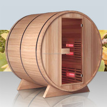 Red Cedar Outdoor Barrel Sauna Steam Room (GT-KB001)