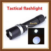 NEW High power rechargeable aluminum tactical led flashlight/Camping,Hiking,Climbing Torch/Rechargeable LED Flashlight/Hunting F