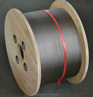 304 &316Hot Stainless steel wire rope 12mm 7x7