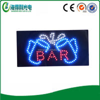 Alibaba express HIDLY bar open neon sign