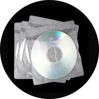 White Paper Cd Dvd Sleeves