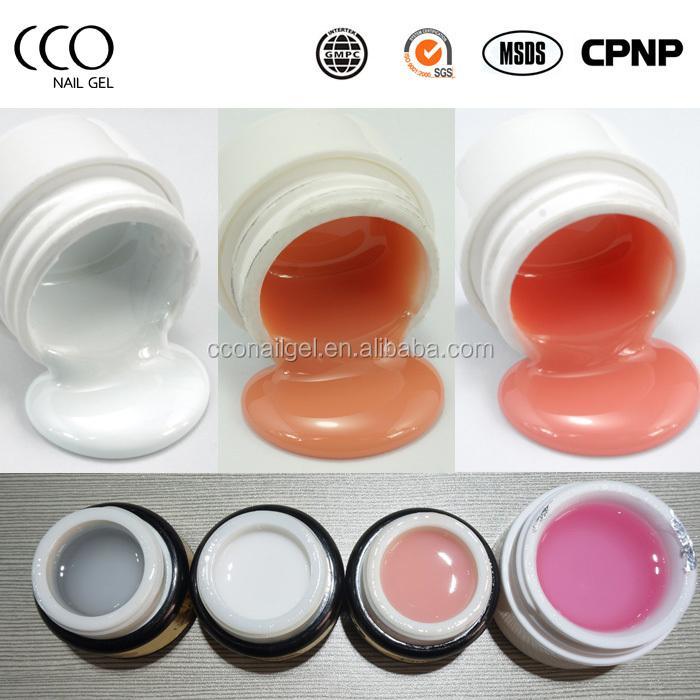 wholesale UV nail gel polish Non soak off Builder gel nail UV gel
