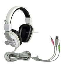 LED USB Stereo 7.1 Surround Stereo Gaming headset with MIC