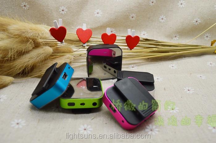 Design de mode lecteur mp3 mini clip, mp3 avec le paquet de détail, vente en gros pour lecteur mp3