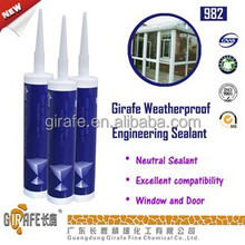 Silicone sealant for engineering construction adhesive silicone sealant