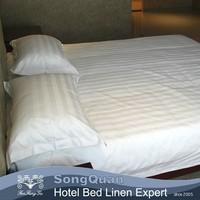 100% cotton white hotel bed linen fabric/bed linen sheet set/bed linen producer