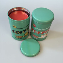 Coffee Metal Can emptyTea Packing Box HL-36