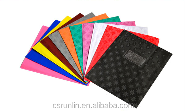 Plastic Book Cover Material : School supplies wholesale paper pvc fabric stretchable