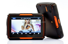 4.3 Inch Motorcycle GPS Navigation - Waterproof, 4gb Internal Memory, Bluetooth with USA, Canada Maps.