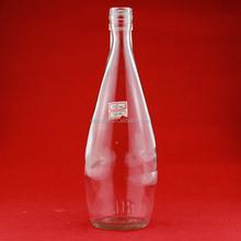 Wholesale chinese liquor bottles vodka glass bottle 750ml