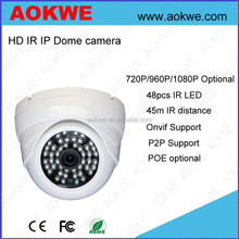 Day and Night home security 1080p full hd indoor dome mini onvif ip camera support p2p mobile phone view