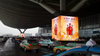 P6.67mm outdoor full color led display taxi advertising signs new products