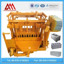 QT40-3A block brick making machine/hollow block solid brick machine/manual block machine bricks making