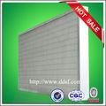 de alta eficiencia pliegues de papel de filtro de fibra de vidrio con separador de la cuerda