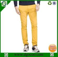 los últimos diseños de forma relajada largo casual pantalones de ocio del pantalón chino proveedor