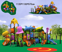 cheapest modern hottest community playground slide material