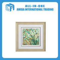Apricot blossom mural, contracted painting, flowers pattern hanging painting