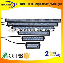 7.5 inch 4x4 led car light auto led light bar off road, optional hyper spot 4d led light bar, hot selling 36W led bar