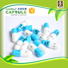 Vending empty hard gelatin capsules for filling powder