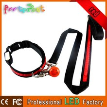 Promotions LED retractable dog leash with lighting pendant