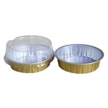50 ml paroi lisse Aluminium contenant en Aluminium avec couvercle en plastique
