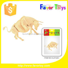Wholesale educational toy 3D wooden puzzle wooden education toy for kids.