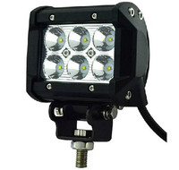 Waterproof Rate IP67 Car Offroad ATV Working Lights 6000K Flood beam,Spot beam, Combo beam 18W 1260Lumens PMMA Lens Led Light Ba