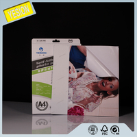 Yesion 2015 Premium inkjet Printing Glossy Self adhesive Photo Printer Paper / Self adhesive A3 Photo Paper Water Based Inkjet