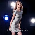 de lujo hechos a mano de cristal toppest calidad de vestido de la pista