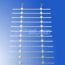 Ultra thin led backlight flexible led mesh curtain 3m x 2m