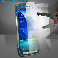 Pureglas brand Tempered glass screen guard cover for samsung galaxy S5 Active touch screen protector