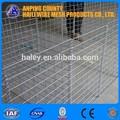 de arame gabion/soldado galvanizado gabion cestas de anping haili iso9001 com; sgs; bv