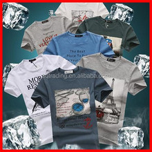 Super soft cotton t-shirts with custom logo printing