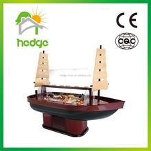 Popular Design Commercial Wooden Salad Bar Display Fridge