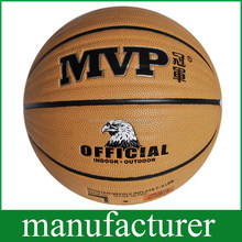 PU Soft Touch OEM Laminated Basketball Size 7 Ball for Training