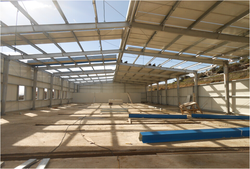steel structure warehouse drawings structure steel fabrication