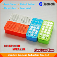 Best Christmas Gift speaker bluetooth mini with anti-lost and selfie functions