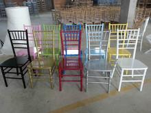 Wholesale Cheap wooden restaurant hotel chiavari chair, wood tiffany chairs, rental/ hiring banquet chair
