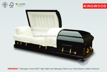 PRESIDENTfuneral supplies caskets black velvet