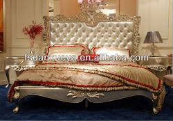 banxueya European style luxury royal size bed/luxury furniture king size bed Bedroom furniture br-01