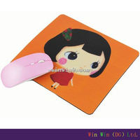 Hot! Promotion customized full printed cheap eco-friendly leather mouse pad