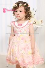 Vestidos de princesa sin mangas al por mayor para los niños blancos de la ropa de las niñas árabes