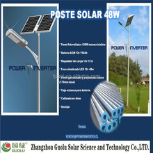 10w Double arm 30w led solar garden light CE Rohs IP65 park light