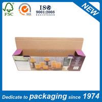 small goods packing need single E flute box carton